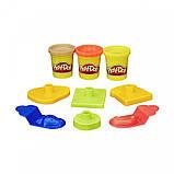 Набор Play-Doh в мини-ведёрке (пластилин+формочки), фото 7