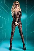 Бодикомбинезон большого размера Livia corsetti Abra black XXXL