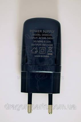Сетевое зарядное устройство Nomi i506 Shine Black ,оригинал, фото 2