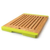 Доска для хлеба бамбуковая с силик. ручками, 38 х 37 см