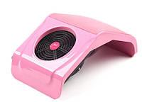 Настольная маникюрная вытяжка (пылесос) №858 (розовая), фото 1