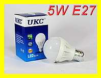 Светодиодная лампа 5W E27 Энергосберегающая