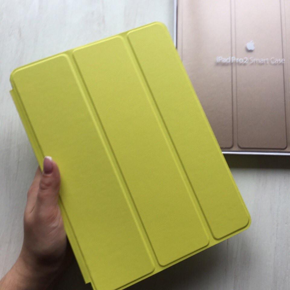 """Кожаный салатовый чехол Smart case для iPad Pro 9.7"""""""