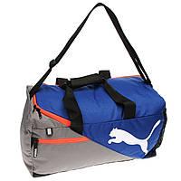 Спортивная сумка Puma Fundamentals Small Bag Blue 30L Оригинал Синий цвет