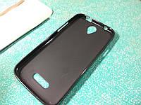 Чехол бампер силиконовый Doogee X6 / X6 Pro черный