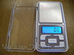 Карманные ювелирные электронные весы 0,1-500г!Акция, фото 2