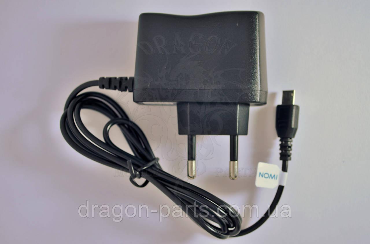 Сетевое зарядное устройство Nomi i184 ,оригинал