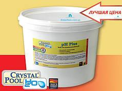 Для повышения уровня pH воды Crystal Pool pH Plus 1кг.