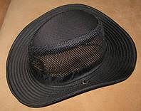 Летняя шляпа с широкими полями (черная), фото 1