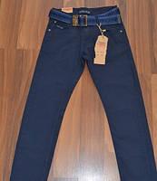 Коттоновые брюки для мальчиков подростков. Школьная модель