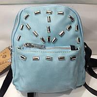 Кожаный женский рюкзак. Модная женская сумка   оптом