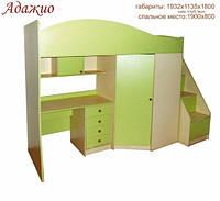 Кровать чердак Адажио