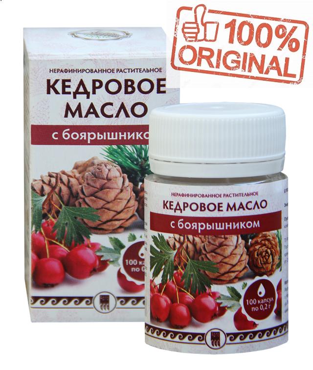 Кедровое масло с боярышником - способствует нормализации тонуса кровеносных сосудов -  Интернет-магазин «Здоровая Жизнь»  в Киеве