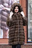 """Шуба из российского соболя цвета Тортора """"Миранда"""" sable jacket fur coat , фото 3"""
