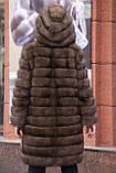 """Шуба из российского соболя цвета Тортора """"Миранда"""" sable jacket fur coat , фото 4"""