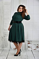 Женское эффектное платье больших размеров (рр 42-74), разные цвета