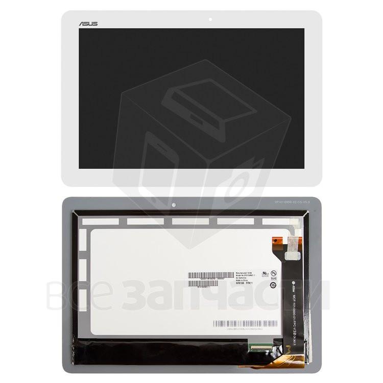 Дисплейный модуль для планшета Asus MeMO Pad 10 ME102A Белый