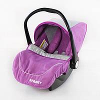 Детское автомобильное кресло TILLY Sparky T-511 PURPLE (от рождения до 15 месяцев)