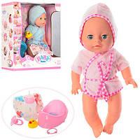 Кукла Пупс Baby Born (Беби Борн) YL1712J. 34 см, 6 функций, 5 аксессуаров