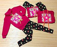 Костюм для девочки на баечке размеры  2 - 7 лет