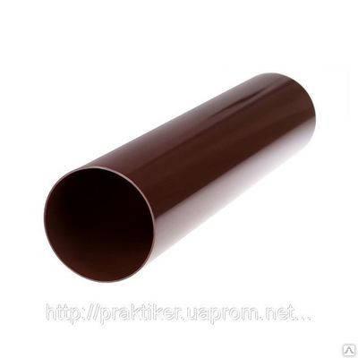 Труба водосточная Ø75 (длинна 3м и 4м), фото 2
