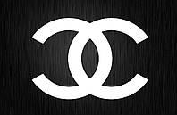 Виниловая наклейка  Chanel (от 5х5 см)