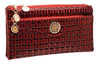 Стильный женский клатч S-5001 red