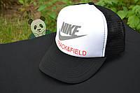 Черная бейсболка NIKE Track&Field (есть много логотипов!)