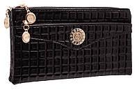 Стильный женский клатч S-5001 black
