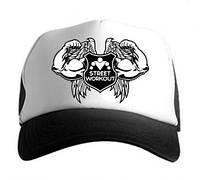 Street Workout cap кепка спортивная    черная    мужская    летняя    спорт    реплика