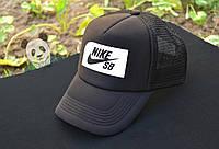 Nike SB кепка черная мужская / бейсболка летняя Найк