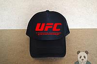 UFC кепка черная  | мужская  | ЮФС  | летняя  | тракер  | реплика