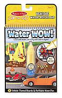 Волшебная водная раскраска Транспорт Melissa & Doug On the Go Water Wow!