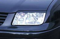 Реснички на фары Volkswagen Bora 1998-2005 г.в. Бора