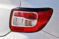 Реснички на задние фонари Renault Logan 2014+ г.в. Рено Логан