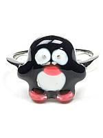 """Кольцо детское """"Пингвин"""""""