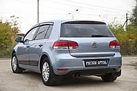 Реснички на задние фонари Volkswagen Golf VI 2009-2012 г.в. Волксваген Гольф 6