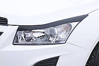 Накладки на передние фары (реснички) Chevrolet Cruze 2009-2011 г.в