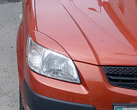 Реснички на фары Kia Rio 2005-2011 г.в. Киа Рио