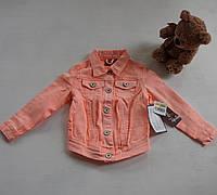 Джинсовая куртка на девочку 3-4года