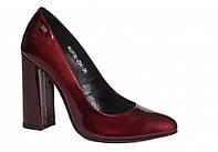 Туфли женские бордовые лаковые Лидер 2936.256 39 раз.