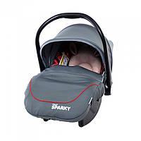 Автомобильное кресло TILLY Sparky T-511 GREY (от рождения до 15 месяцев)