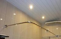 Карниз для шторки под углом 90 градусов 700*1750