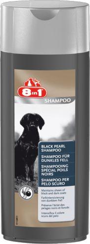 Шампунь «Черный жемчуг» для собак темных окрасов. 8 в 1