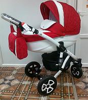 Детская универсальная коляска Adamex Barletta 02P (2 в1) купить оптом и в розницу в Одессе 7 километр