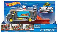 Хот Вилс Автофургон питстоп Hot Wheels City Pit Crewser Vehicle, DJD74