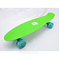 Скейт Penny 44, пенник для детей и подростков, крутой скейтборд, скейт с подсветкой, пенник