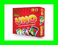 Настольная игра Strateg Uno Mix: Классическая + Детская !