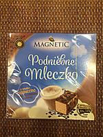 Птичье молоко со вкусом капучино в молочном шоколаде с украшением Magnetik Польша 320г