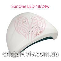 Лампа Cristal Sun One UV LED 48W + гель лак в подарок!